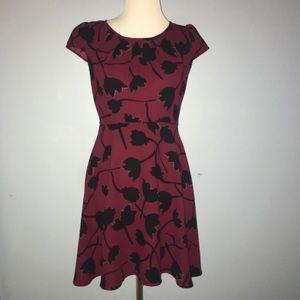 Ann Taylor Loft  sz 2 Multi Color Floral Dress